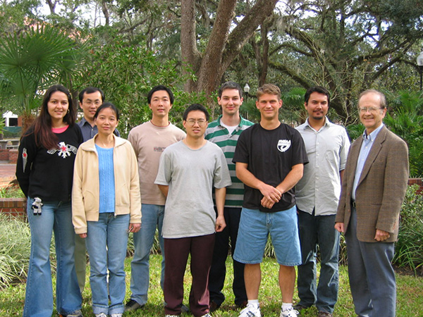 Dolbier Research Group Members, 2005